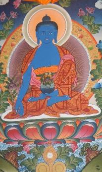 Prananadimassage Medizin Buddha
